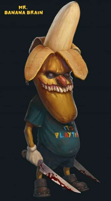 mr banana brain tony sart