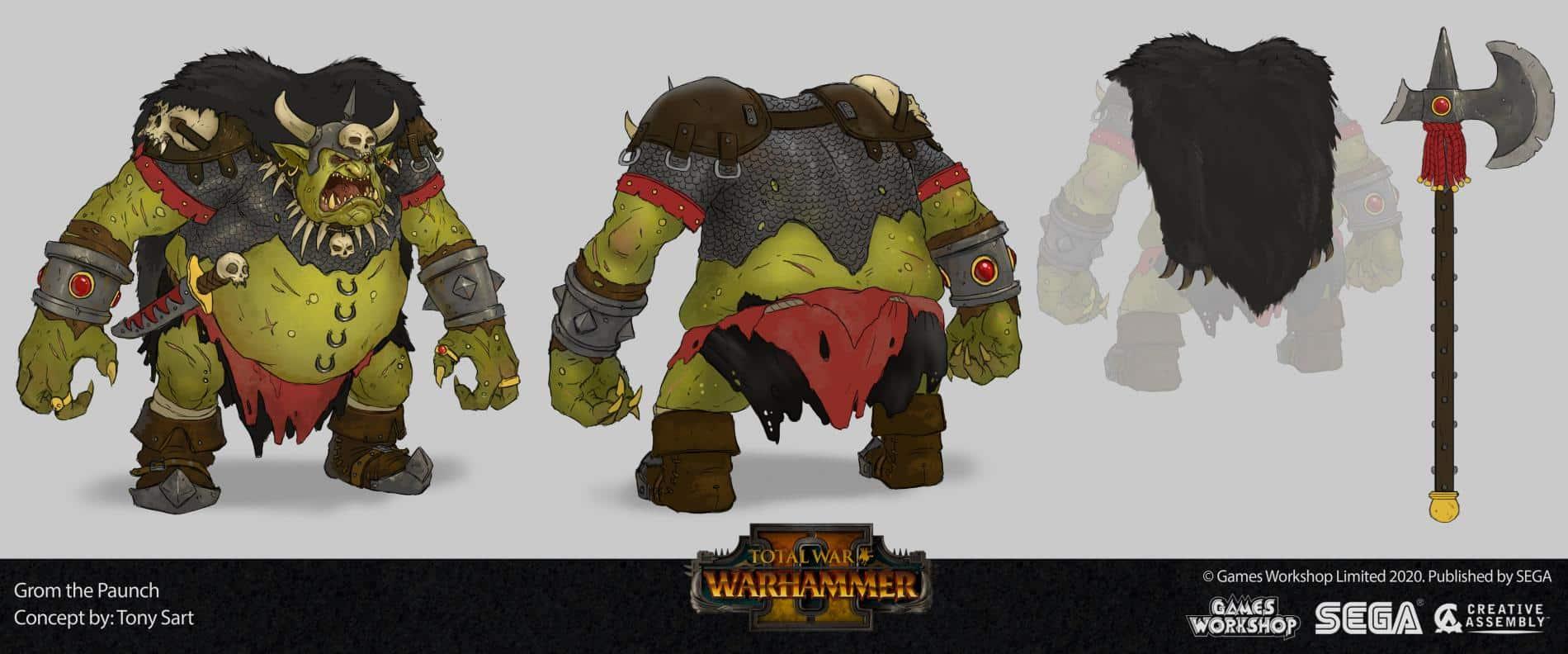 paunch Total War Warhammer II tony sart