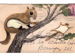 postales animales diana sudyka ardilla