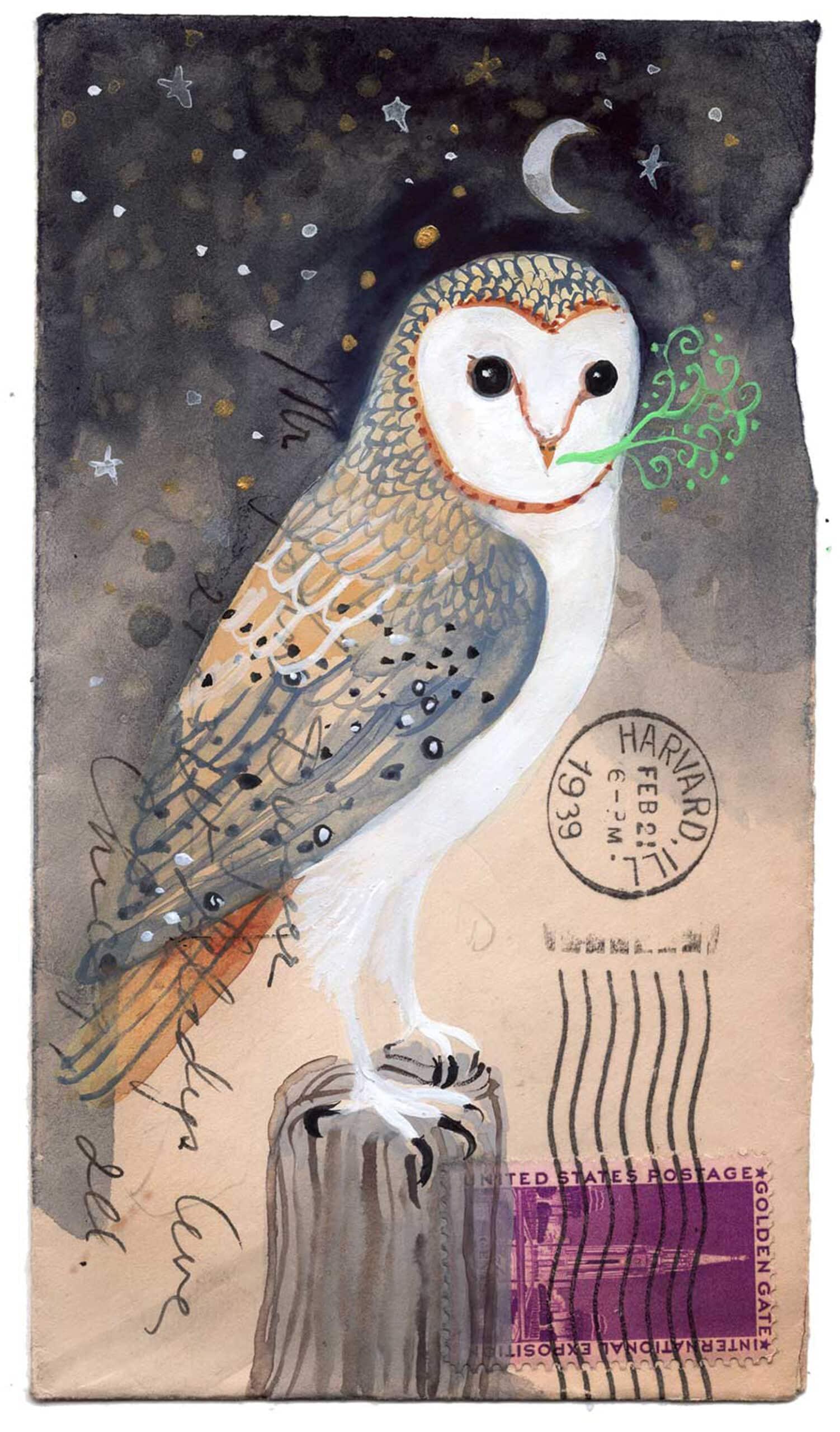 postales animales diana sudyka buho