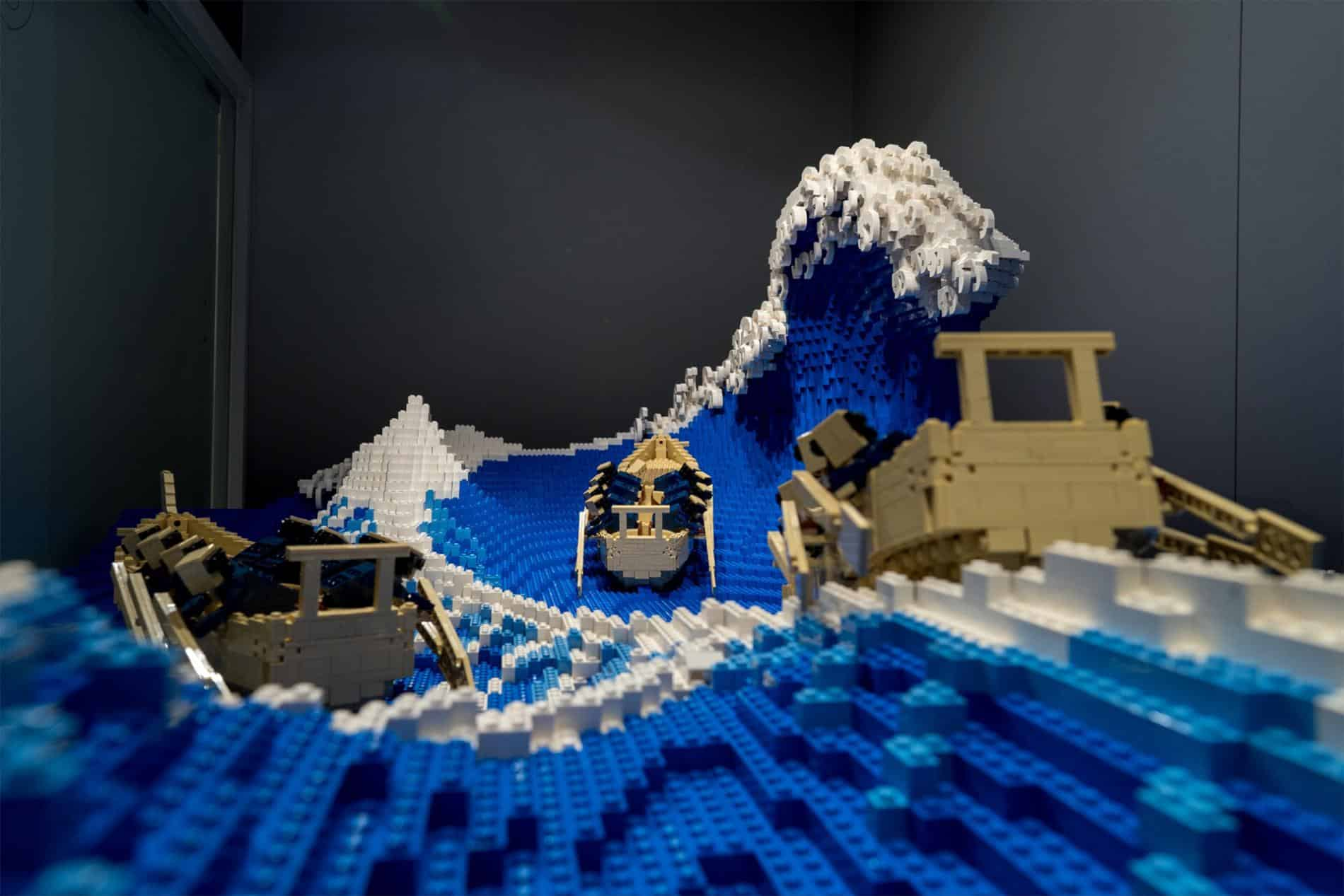 MITSUI OLA DE LEGO AZUL