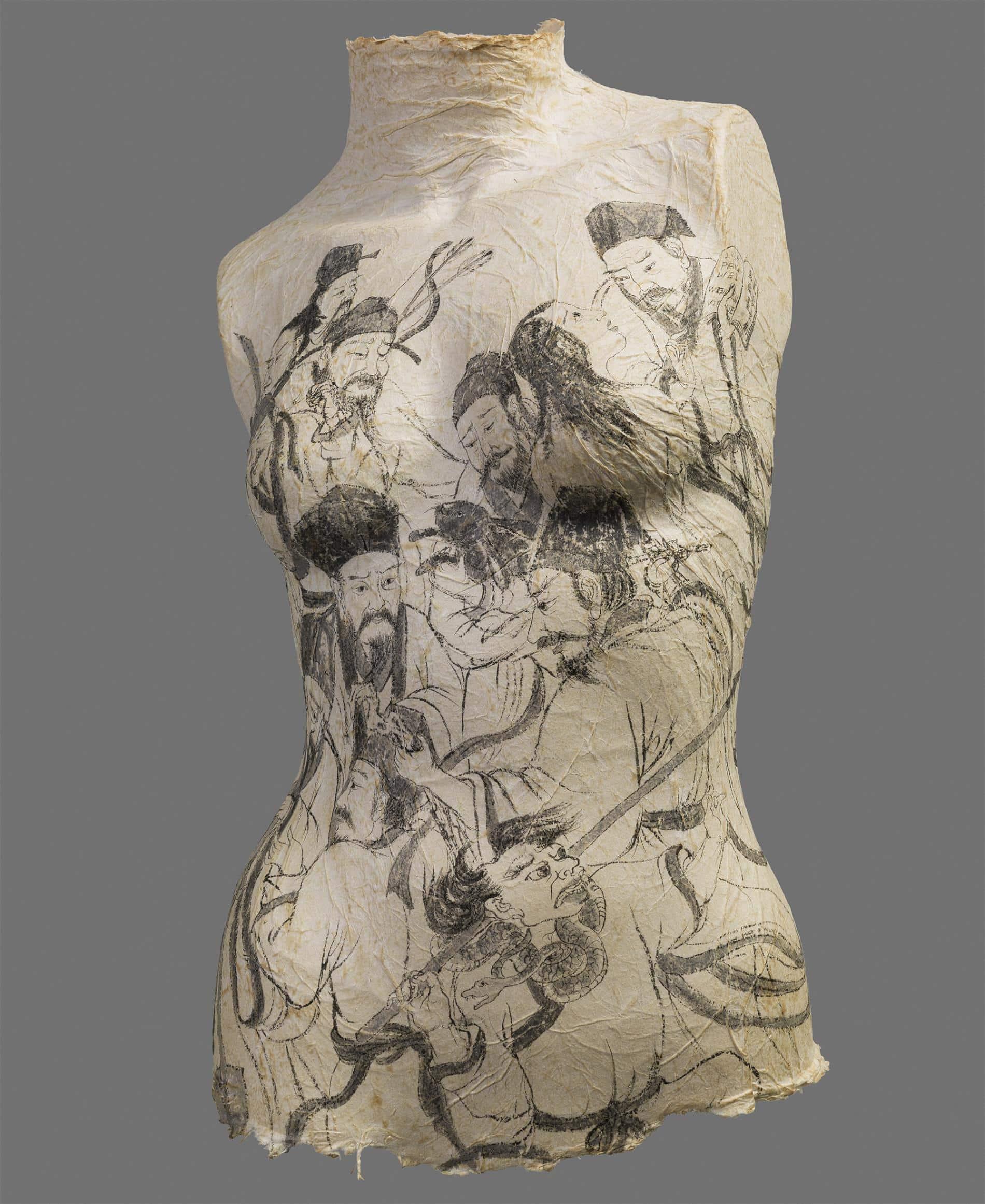 Peng Wei torso femenino cultura china