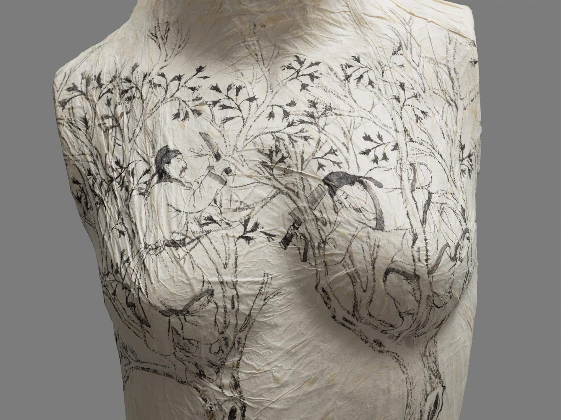 Peng Wei torsos femenidad