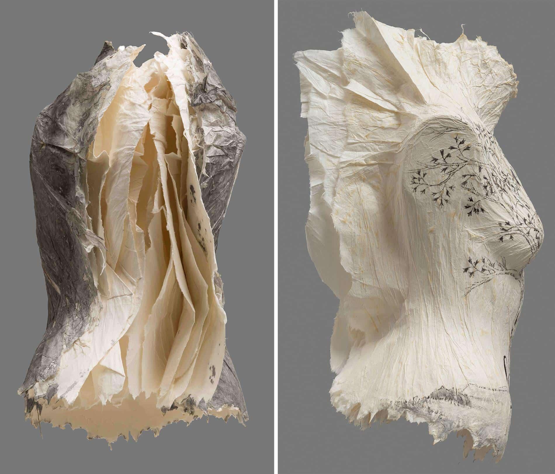Peng Wei torsos lino y algodon