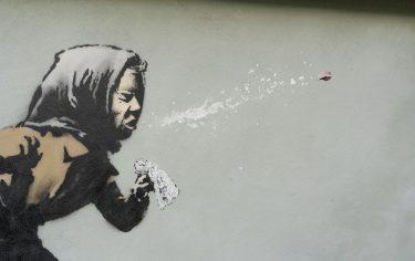 aachoo banksy nuevo street art