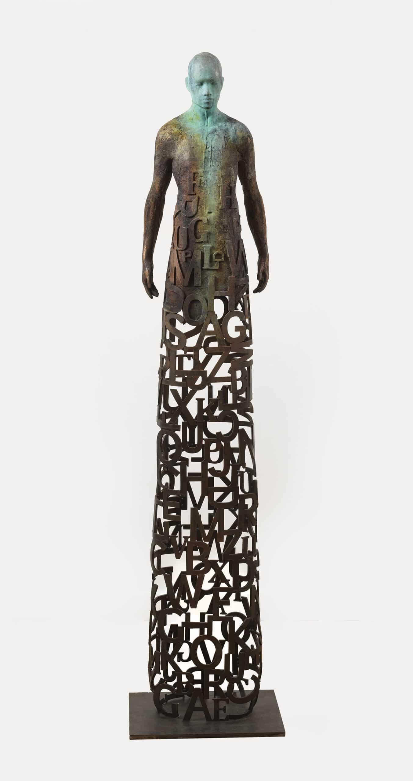 escultura jesus curia tipografia