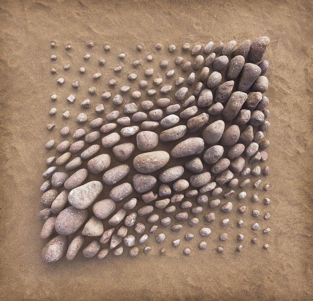 land art piedras