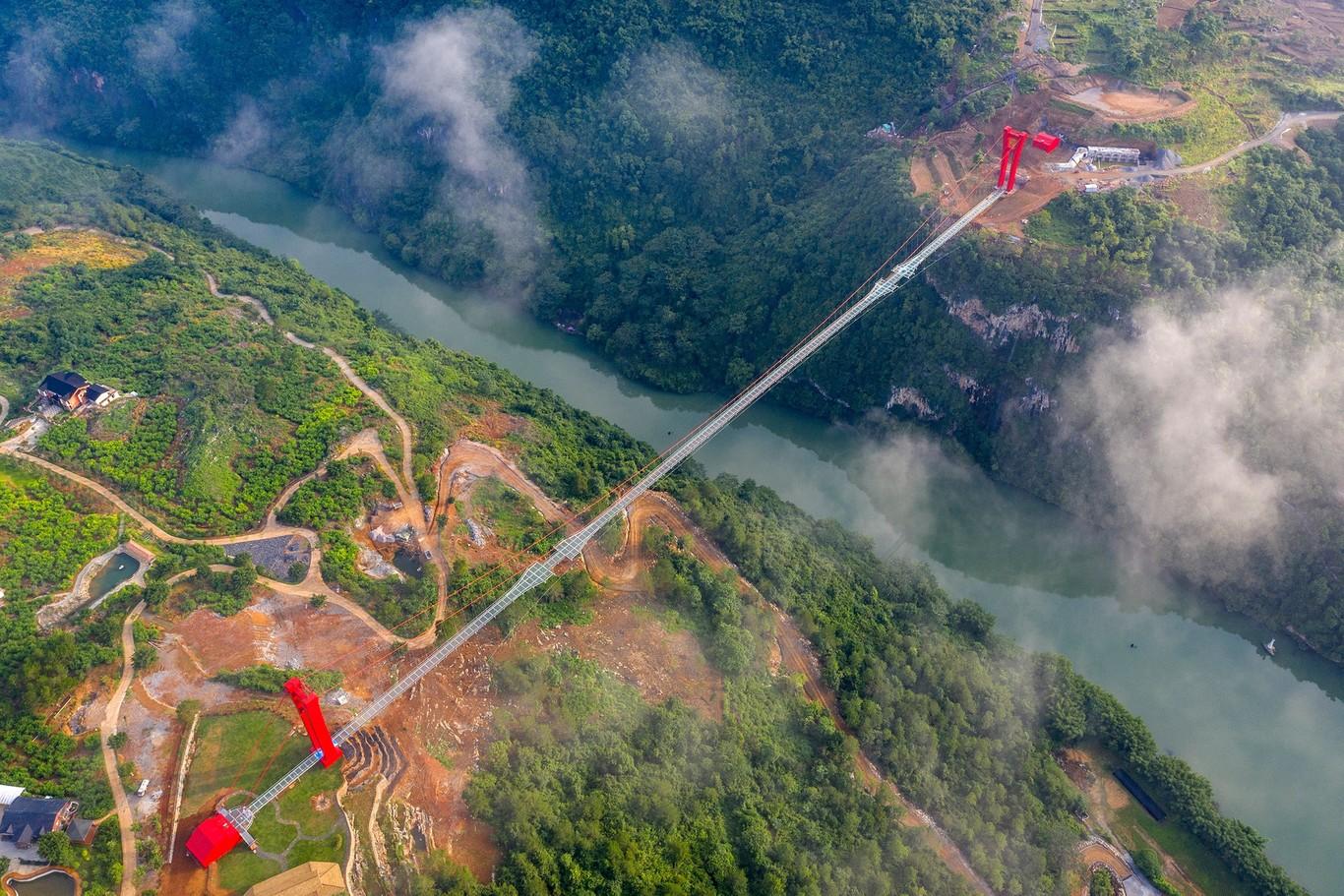 puente mas largo del mundo foto aerea
