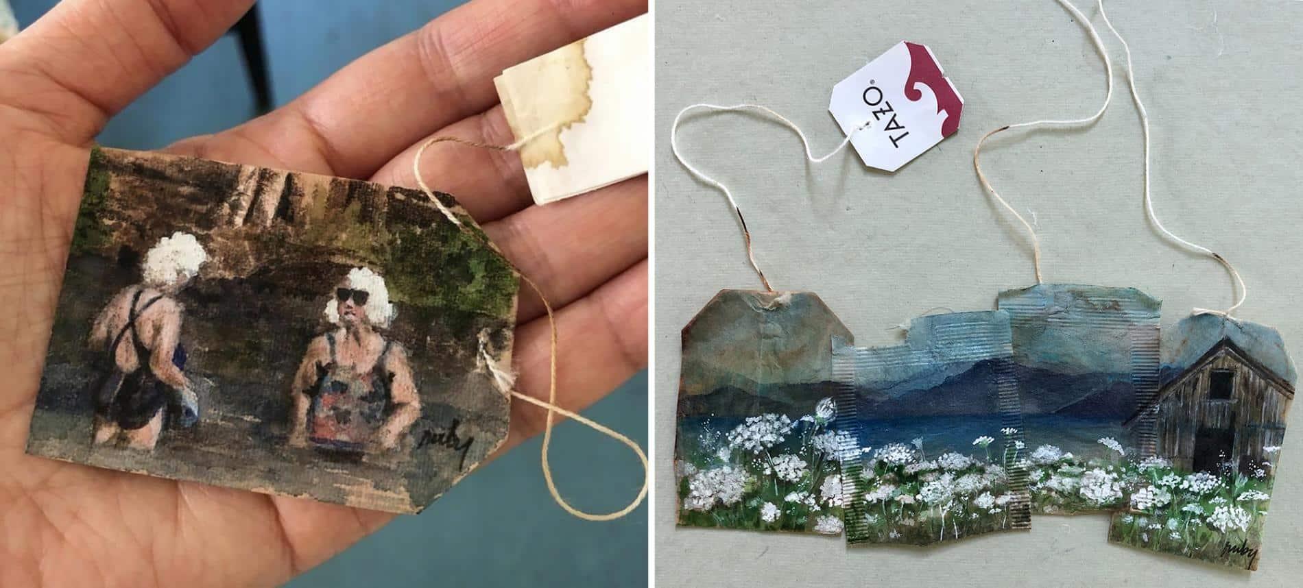 ruby silvius miniaturas en bolsas de agua