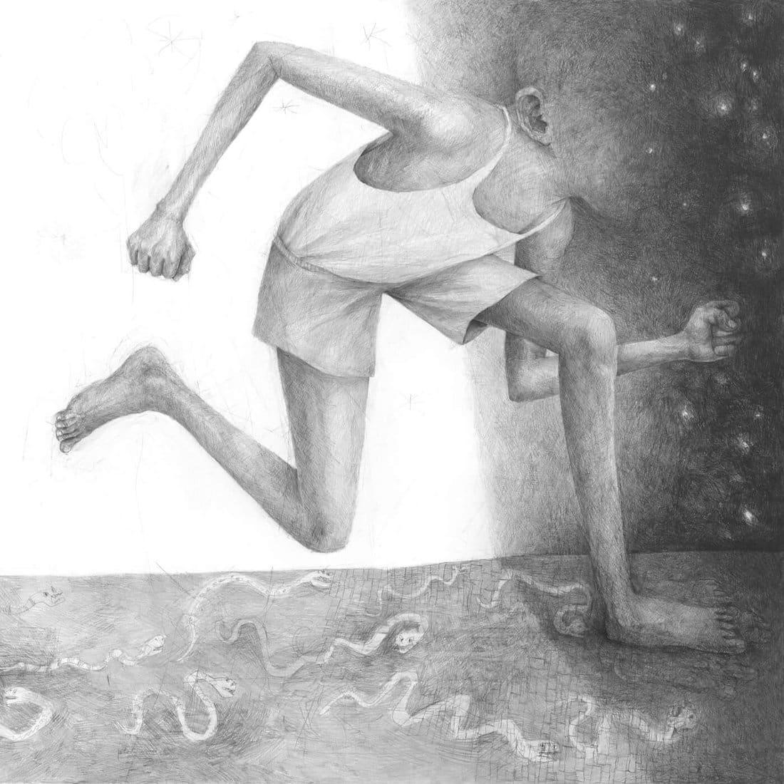 zsaitsits ilustracion lapiz arte