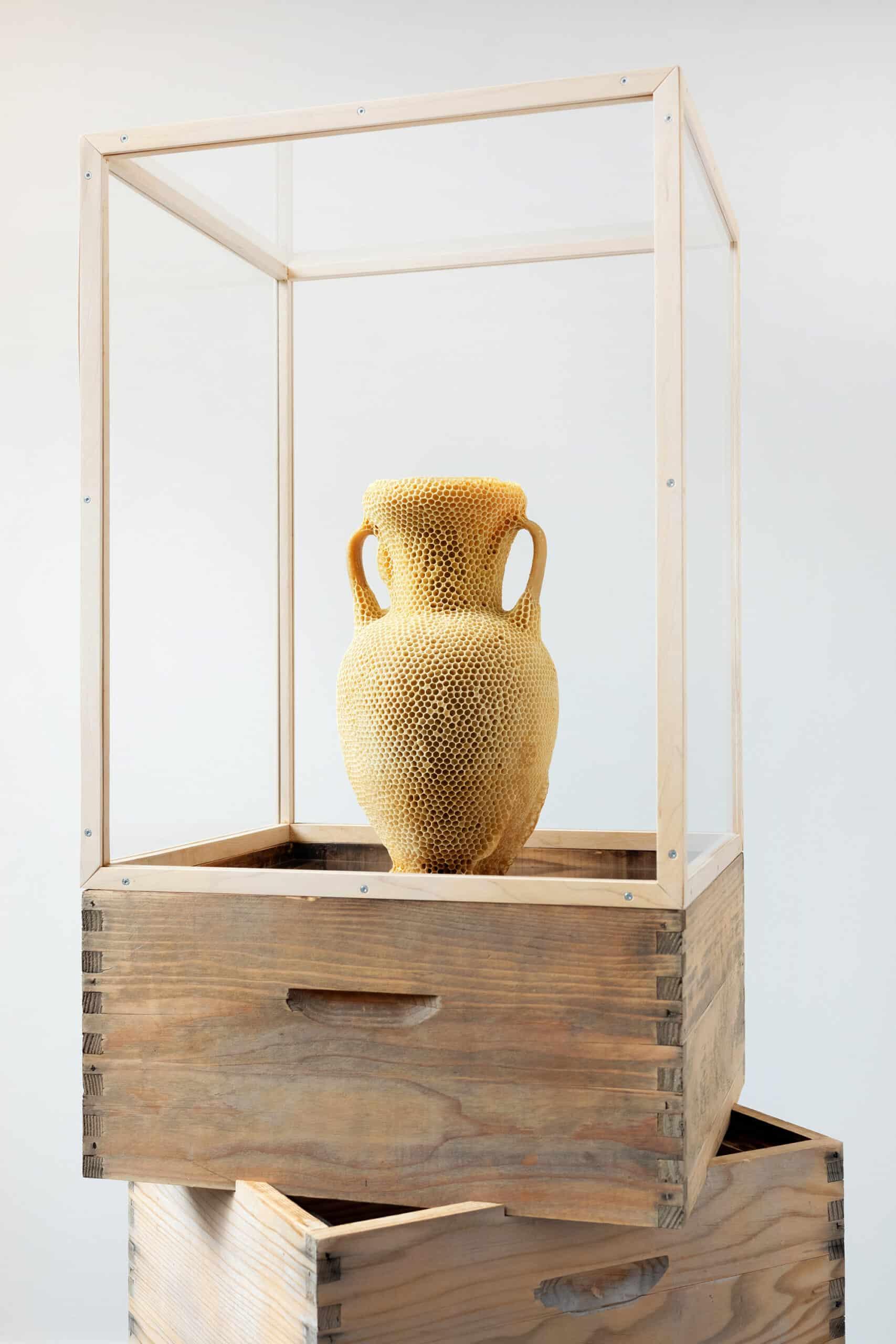 The Honeycomb Amphora tomas libertini exhibida