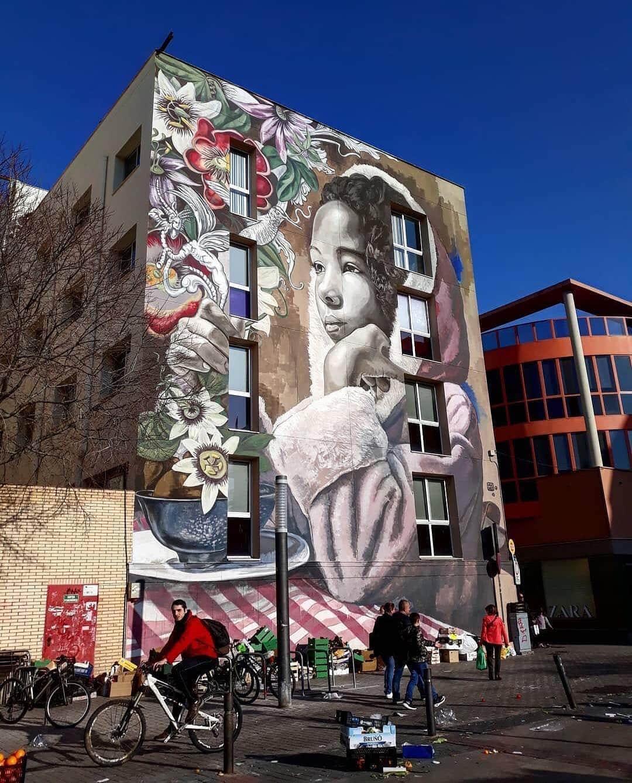Vilanova i la Geltru Spain lula goce street art