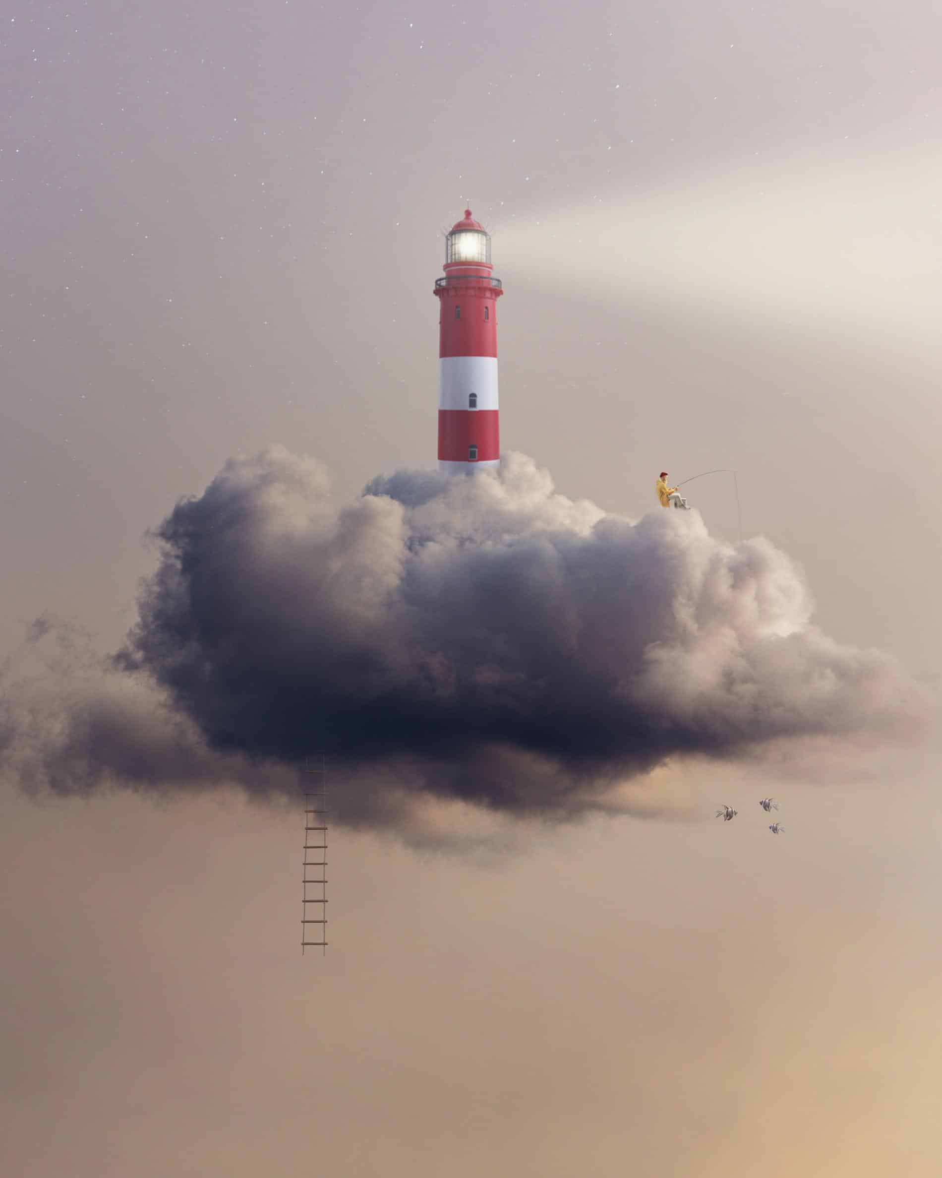 el pequeño mundo de ted faro nubes