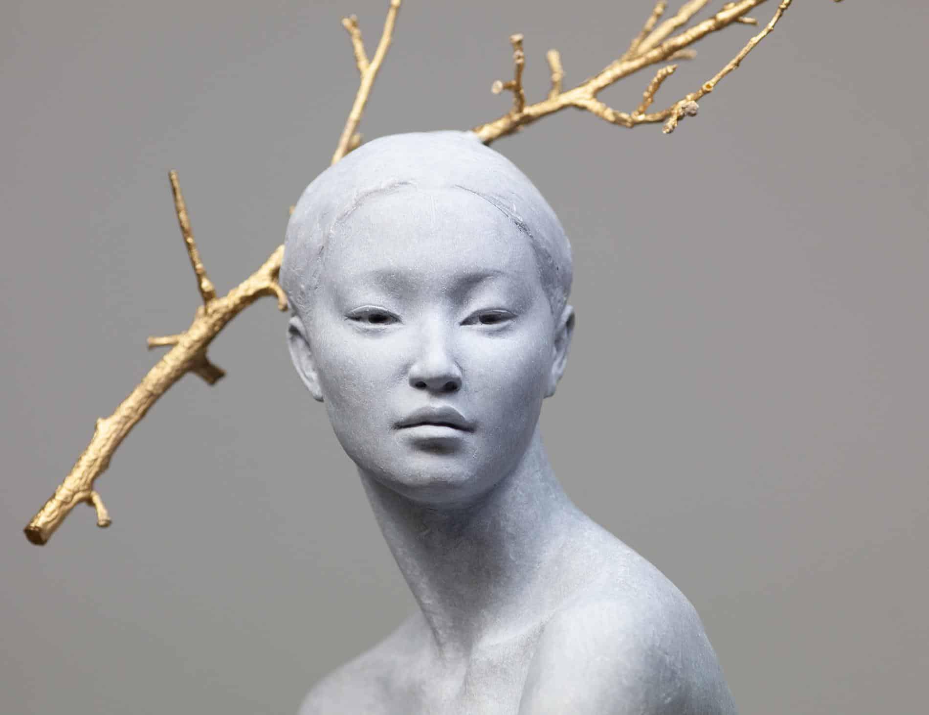 escultura coderechmalavia Detail of Haiku