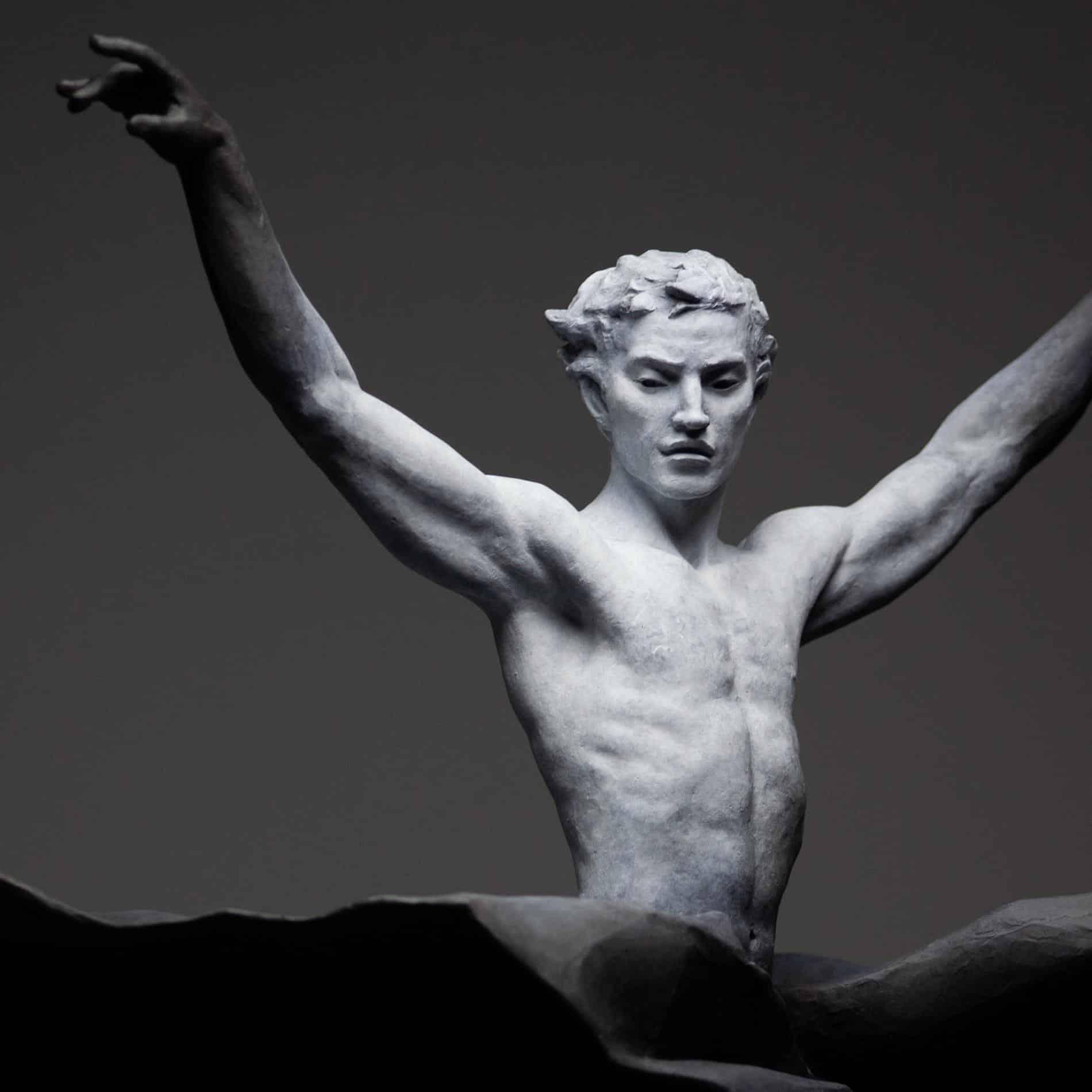 escultura coderechmalavia Moonlight Shadow detalle
