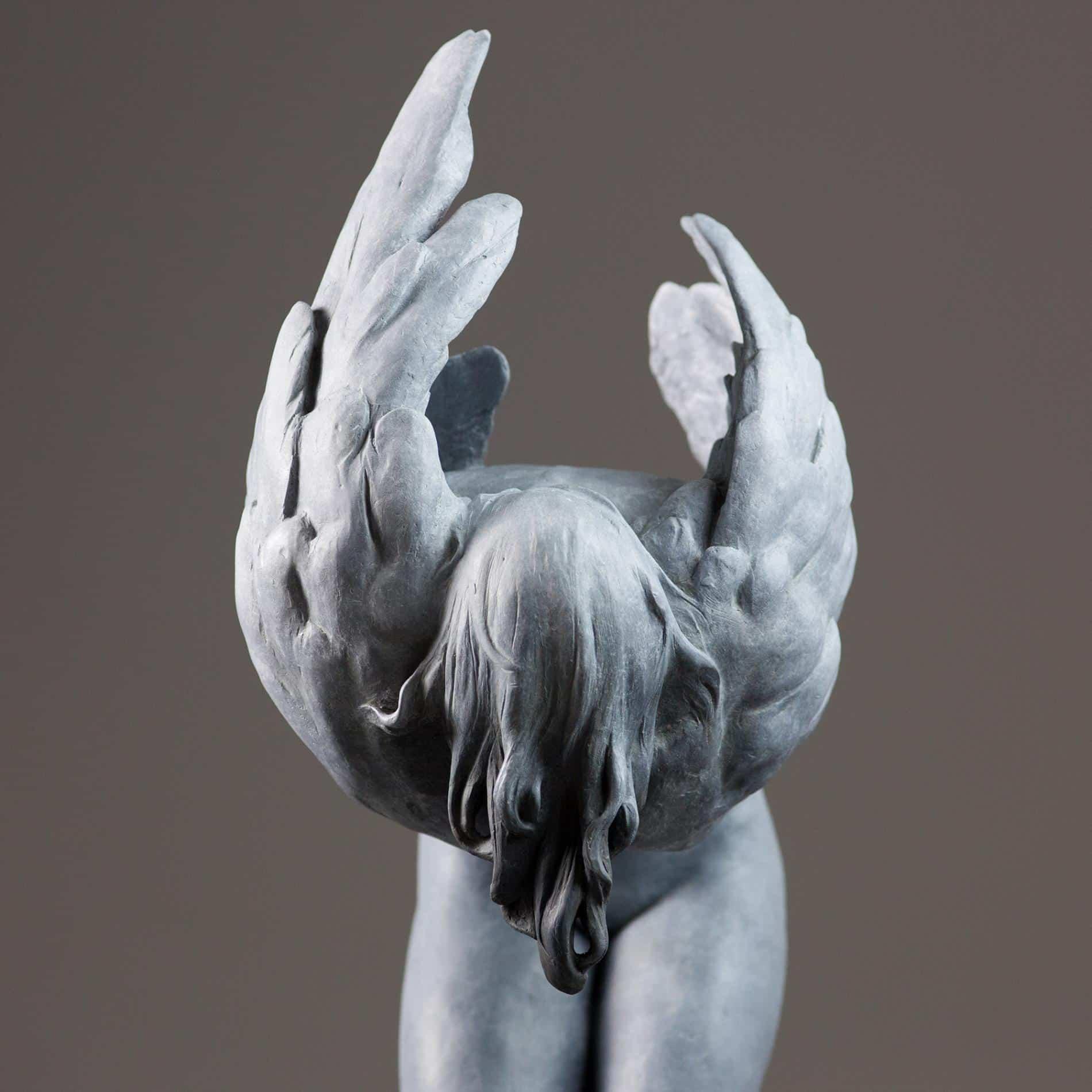 escultura coderechmalavia Odette detalle