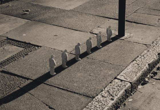 isaac cordal mini esculturas sombra