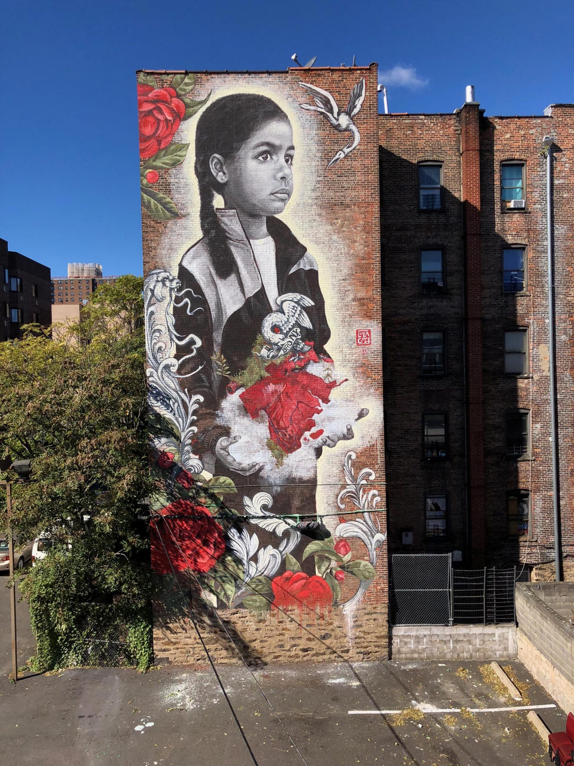 lula goce street art