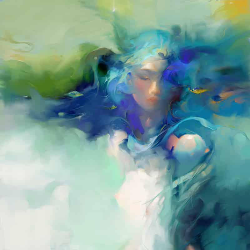 nhan nguyens temporada de vida azul