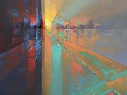 paisajes pixelados Jason Anderson city
