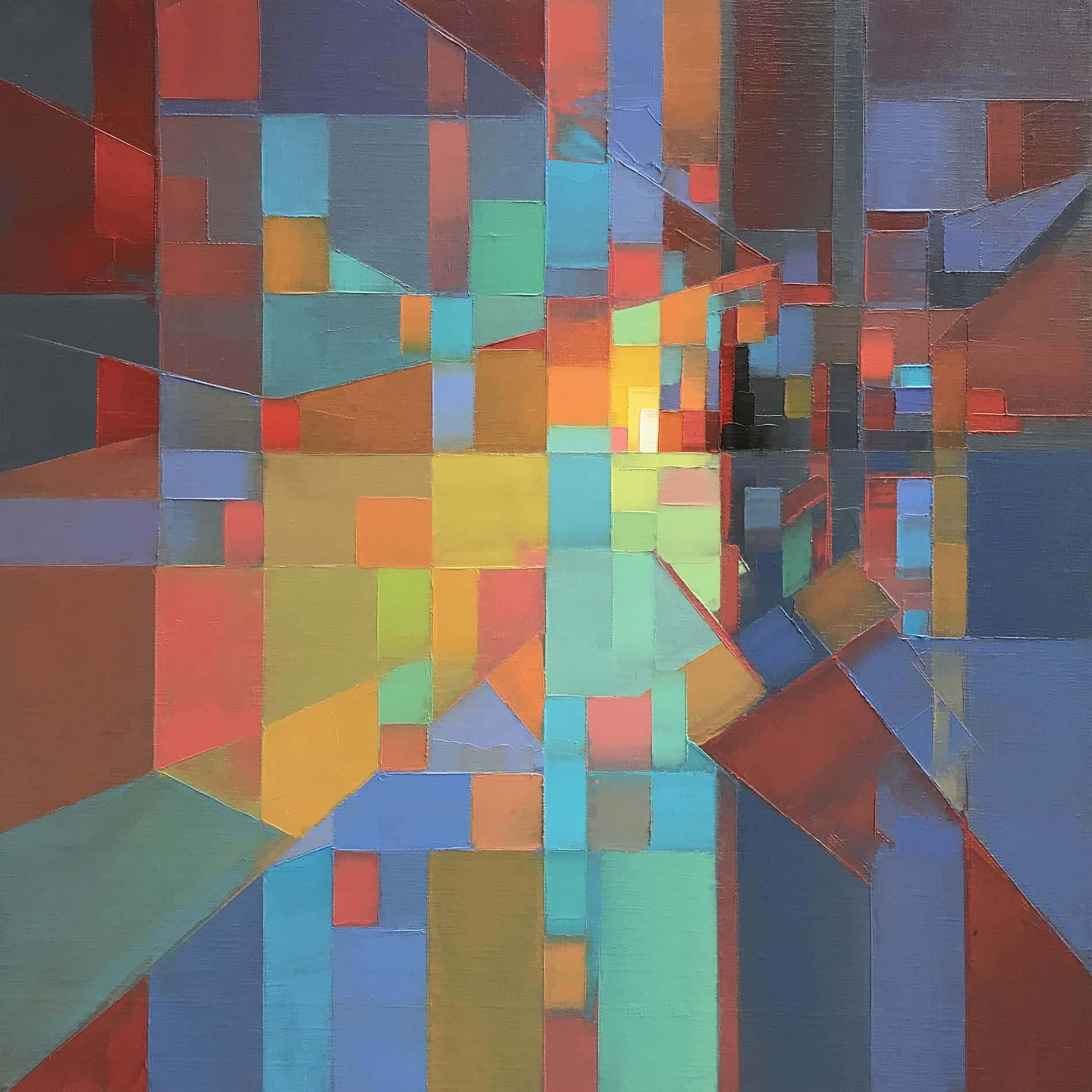 paisajes pixelados Jason Anderson plaid
