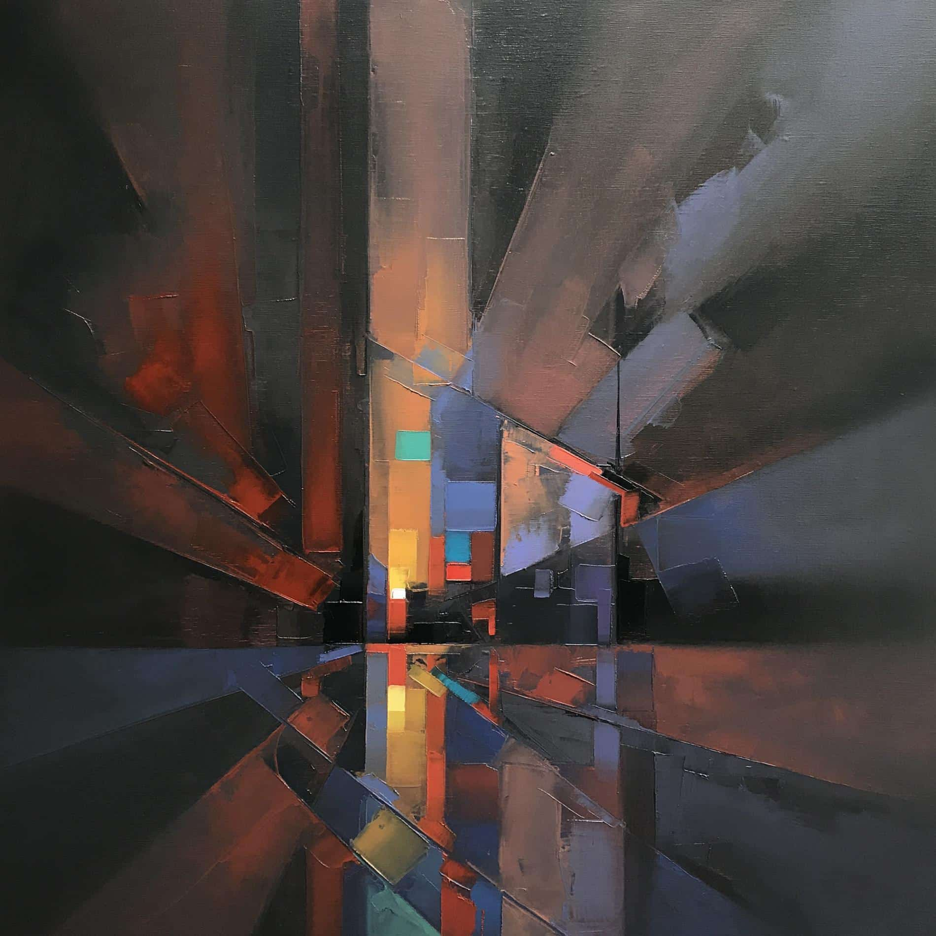 paisajes pixelados Jason Anderson pulse