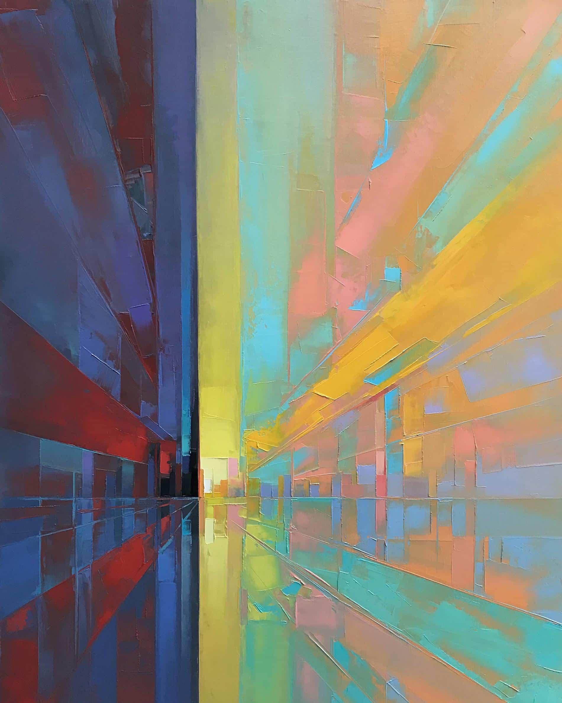 paisajes pixelados Jason Anderson sheer