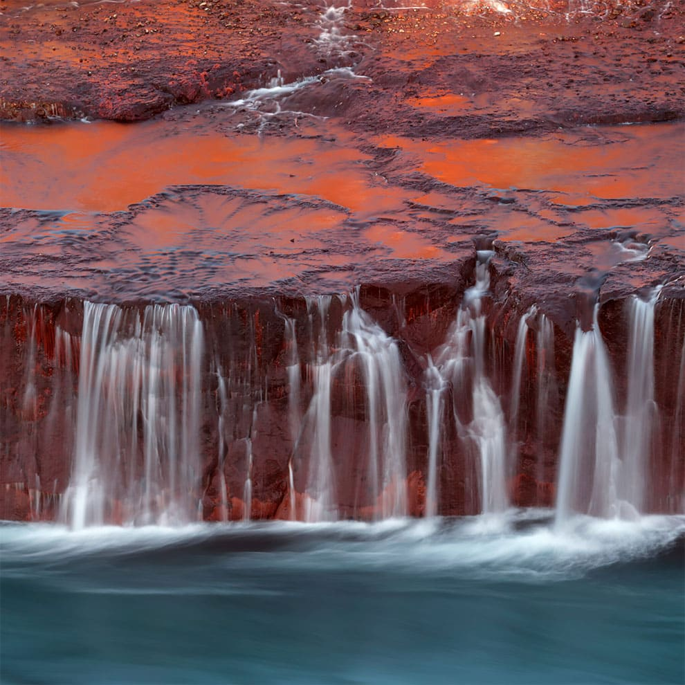 Redfoss, in the long exposure category. (Photo by Hermine Jouan