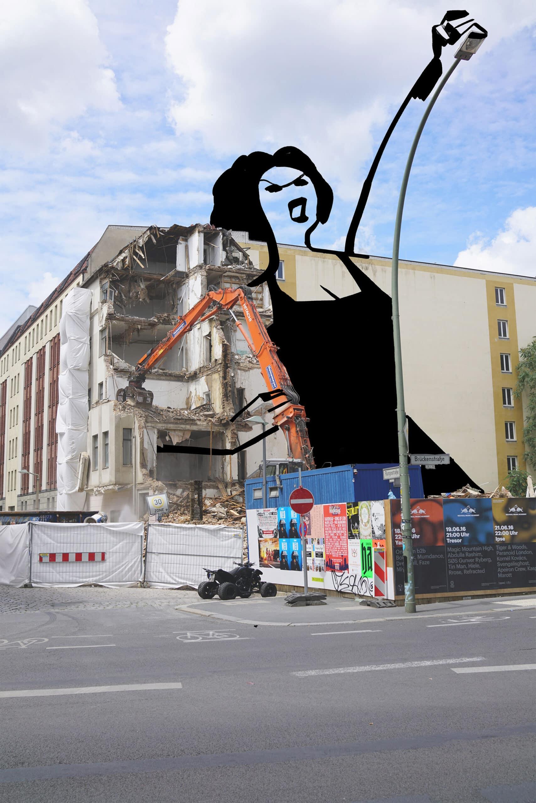 mujer construccion sunday sketches chritoph niemann