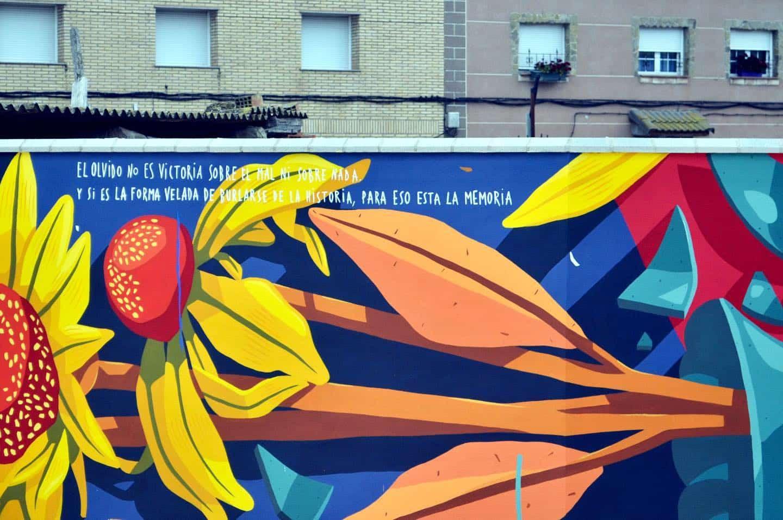 street art dieo vicente mensajes