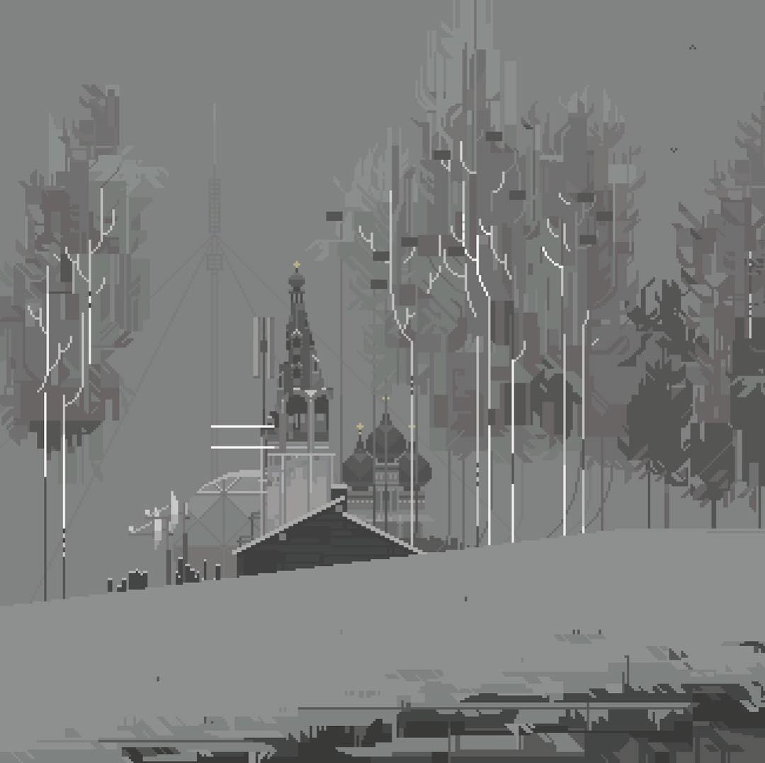 6VCR PIXEL ART RUSIA