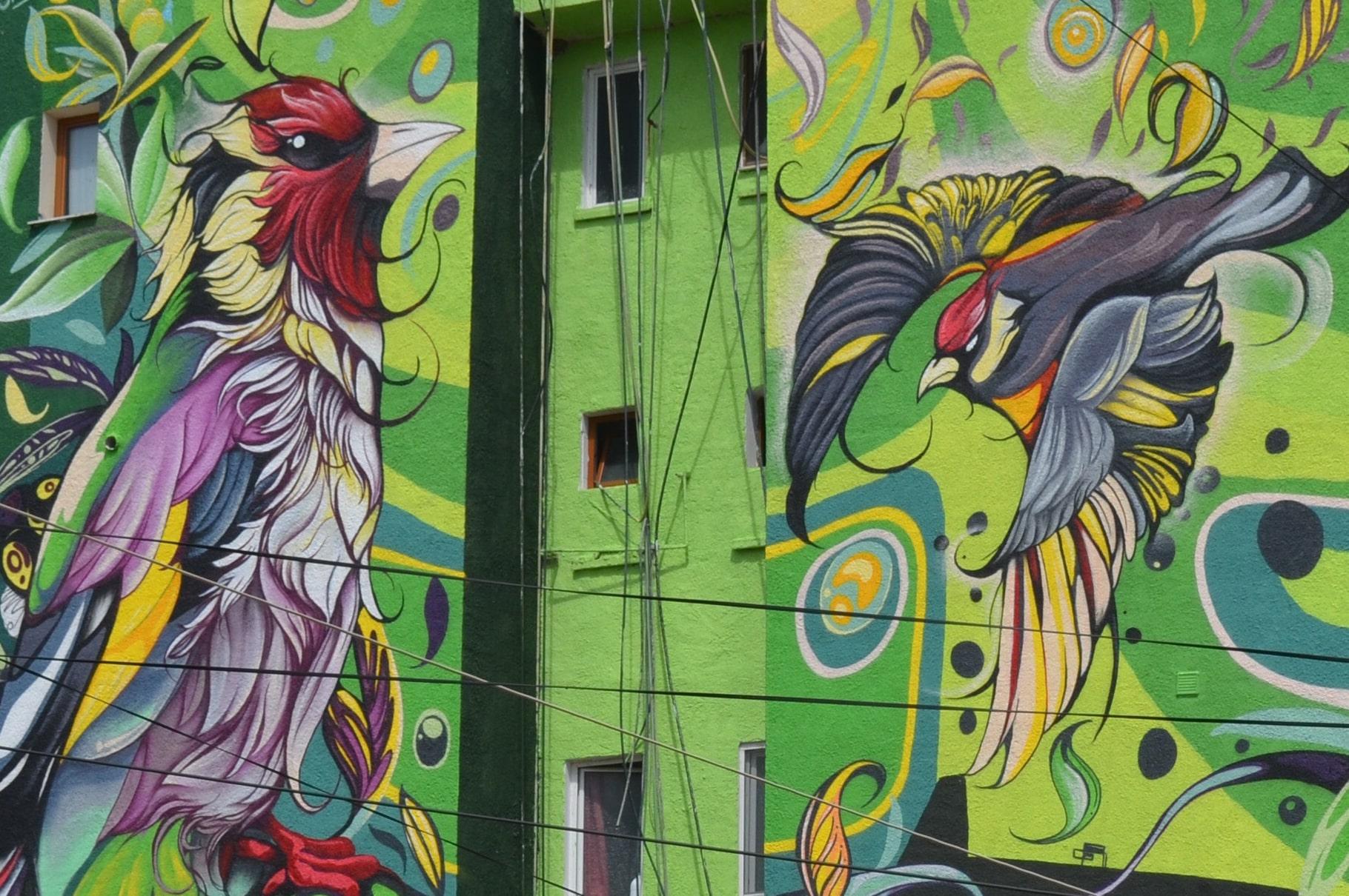 abves edificio fio silva murales detalle