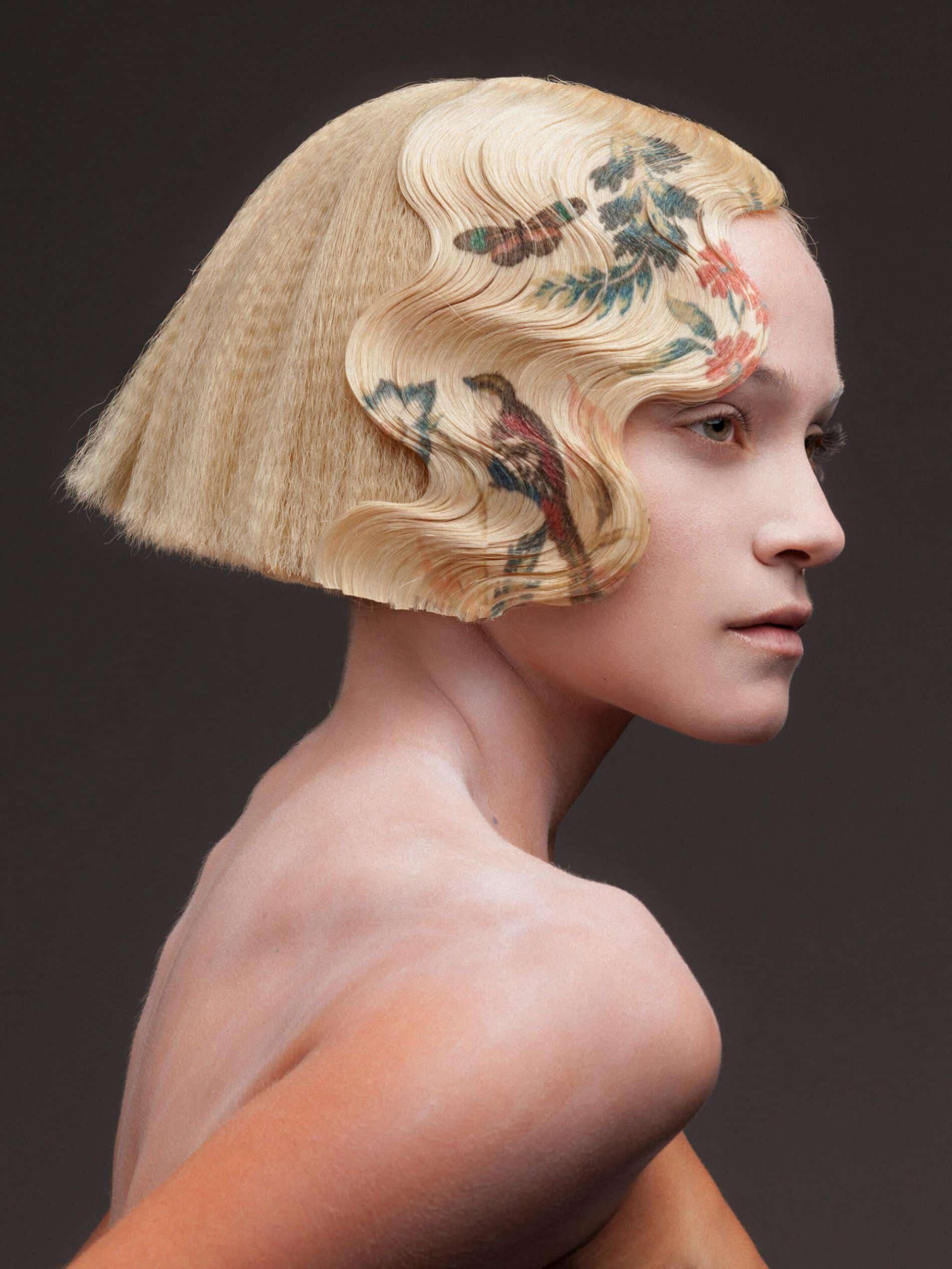 alexis ferrer impresion digital peinados con arte