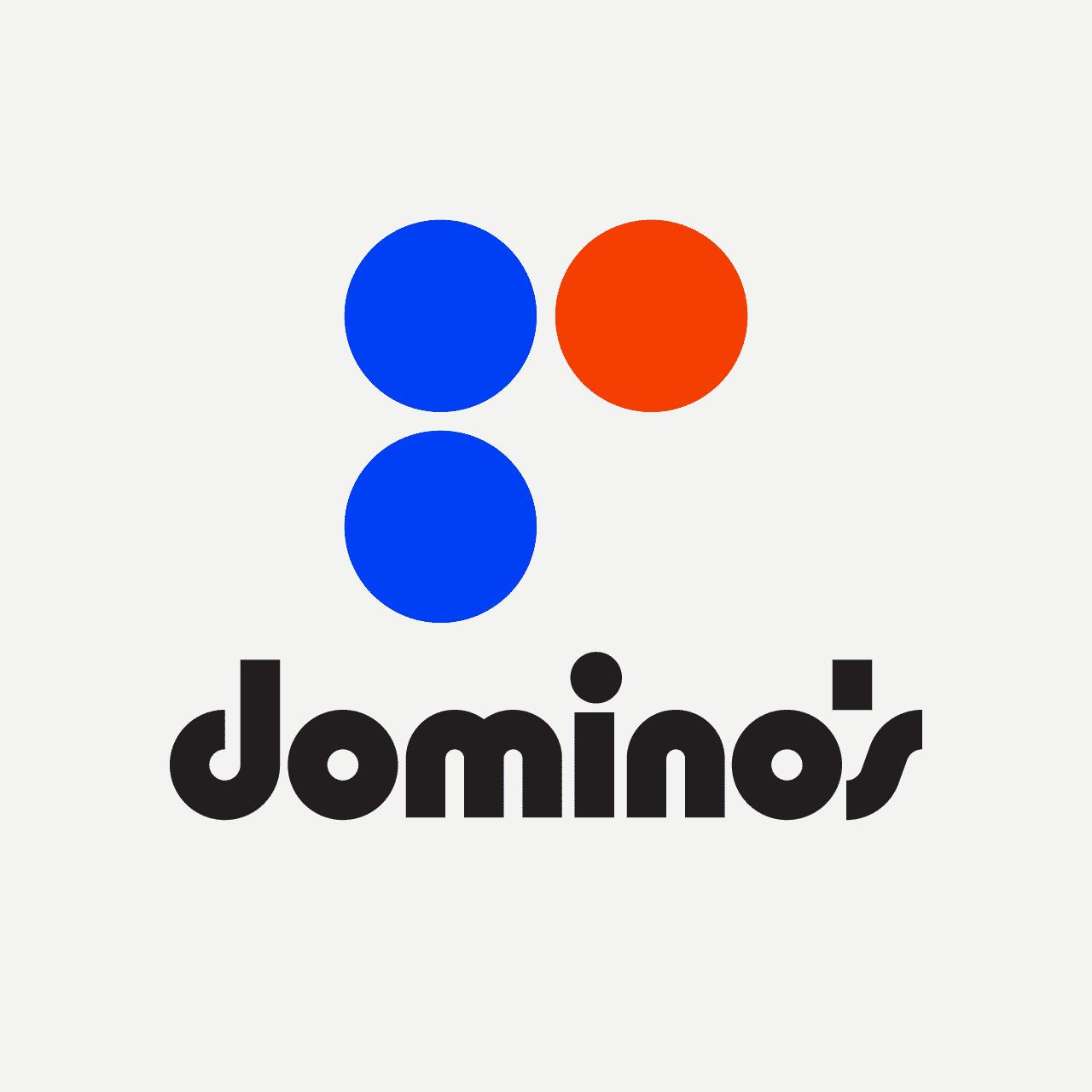 dominos vintage logo rafael serra