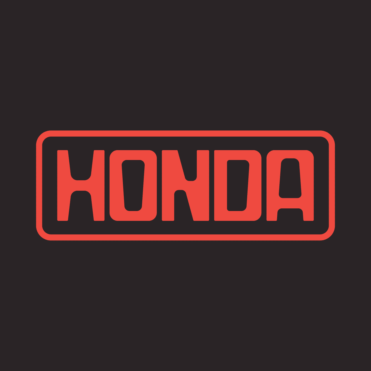 homda vintage logo rafael serra