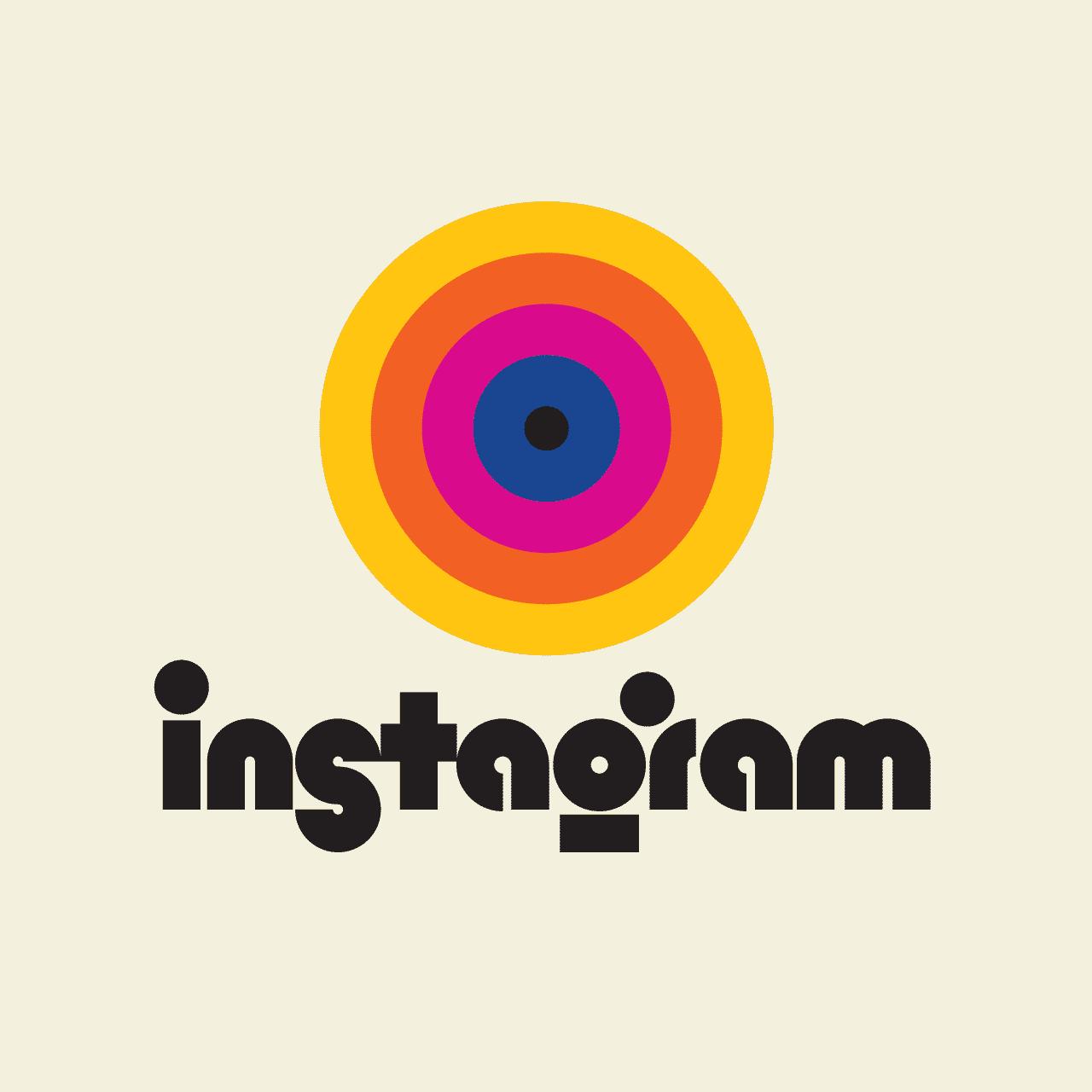 instagram vintage logo rafael serra