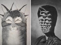 lola dupre gato y persona collage