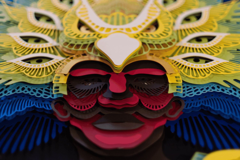 mascara patrick cabral aire detalle