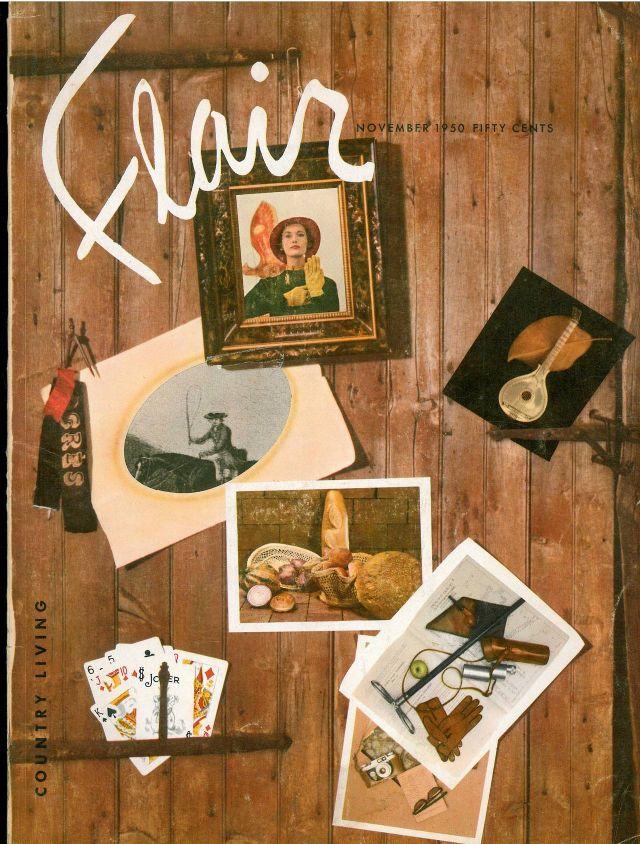 portada revista flair collage