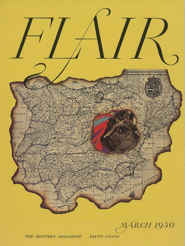 portada revista flair mapa