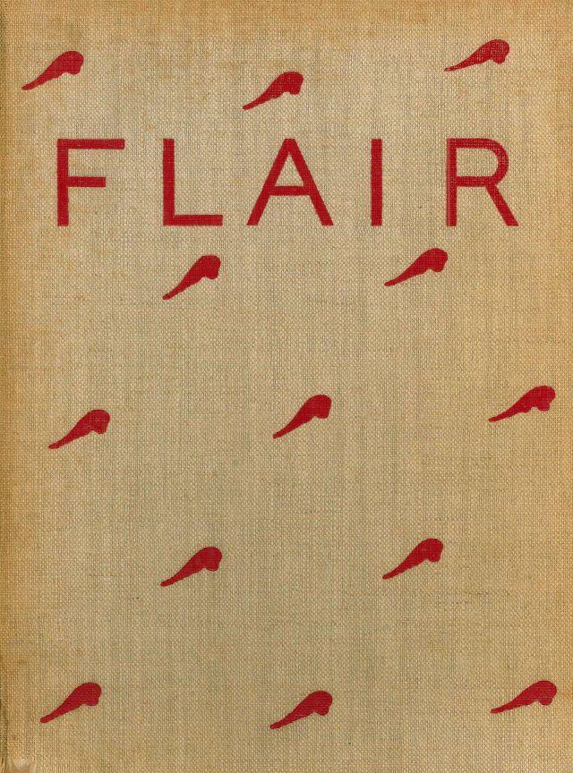 portada revista flair rojo