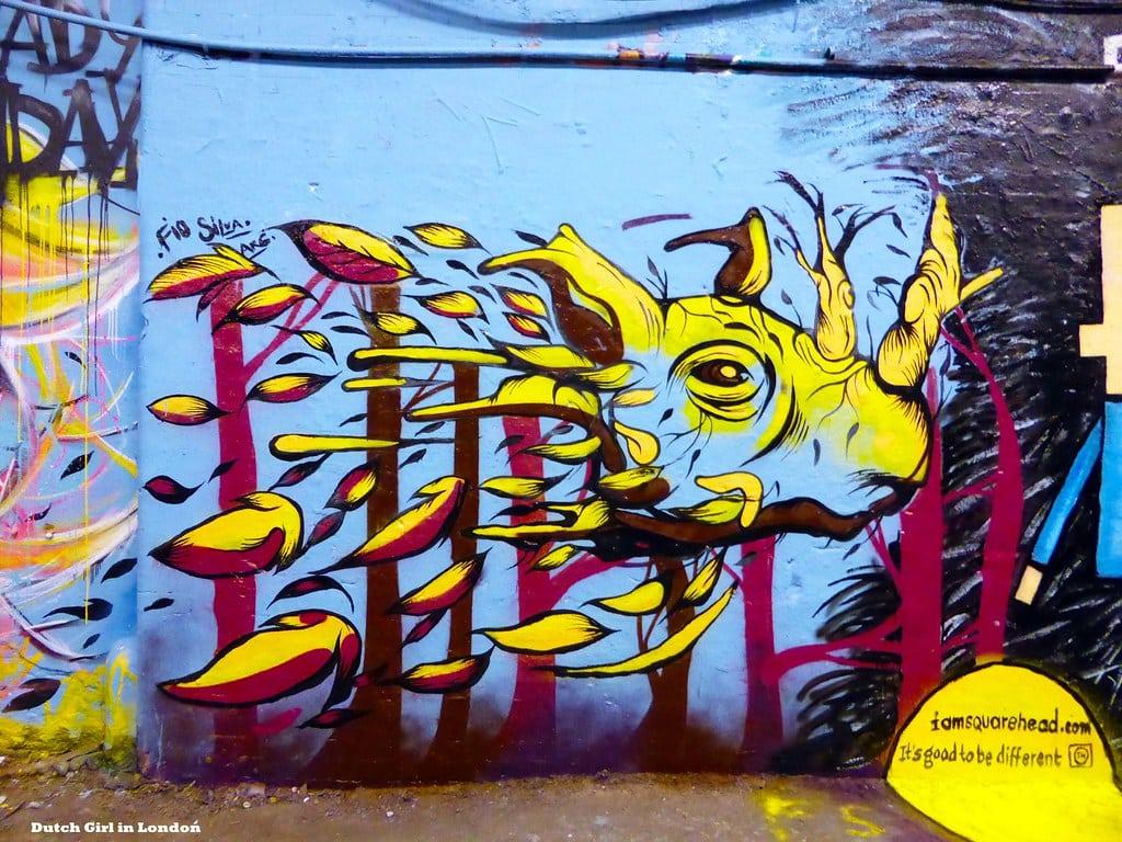 Murales que cobran vida por Fio Silva | Street Art