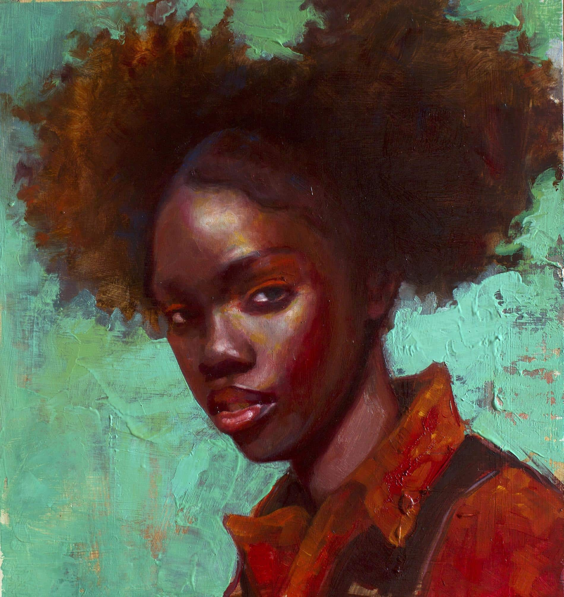 Los retratos en pastel de Rosso Emerald exploran otras nociones de belleza | Arte