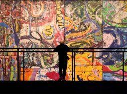 sachi jafari artista la obra mas grande del mundo record