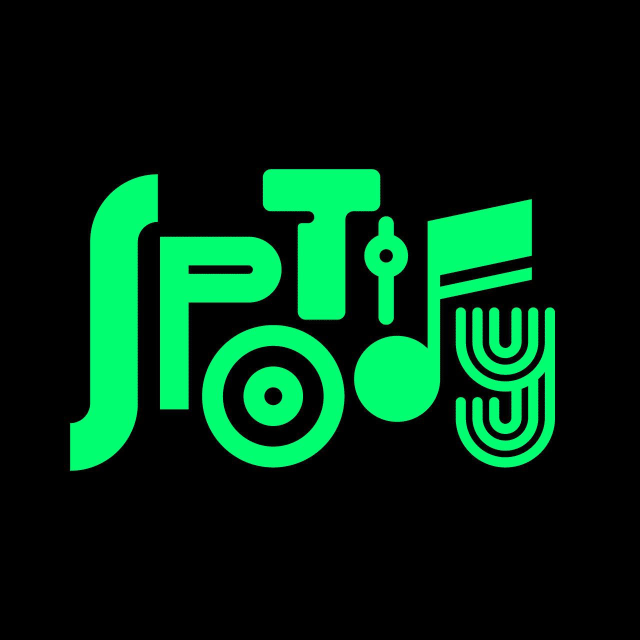 spotify vintage logo rafael serra