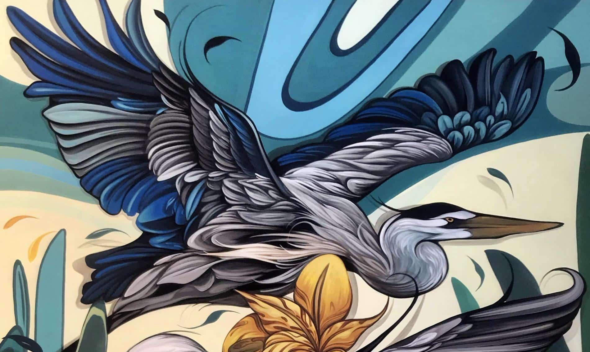 vuelo fio silva murales