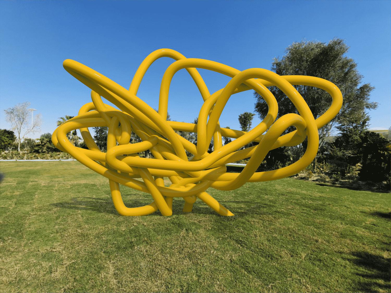 Scribble escultura ken kelleher