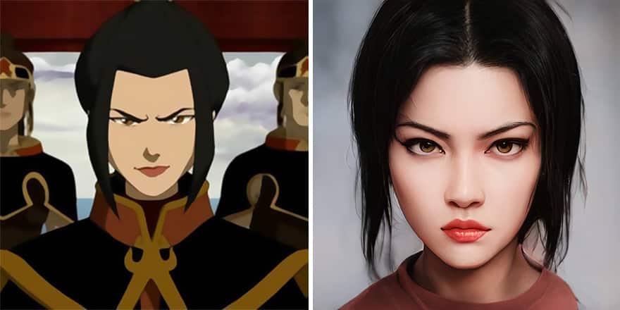 Shenoa Loewy anime warrior