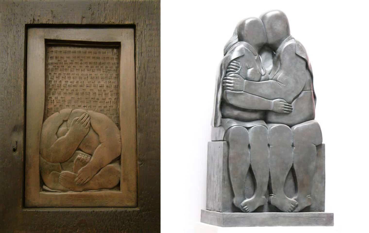 esculturas de Khaled DAWWA