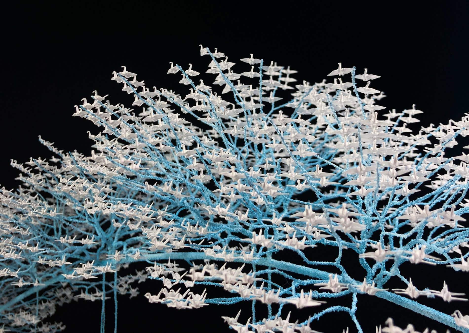 grullas mini origamo naoki onogawa bonsai